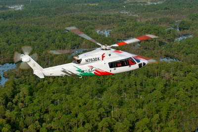 S-76D Helicopter gains FAA Type Certification!  (PRNewsFoto/Sikorsky Aircraft Corp.)