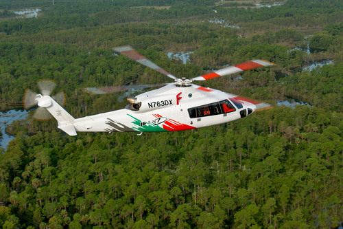 FAA Approves Type Certification for S-76D™ Helicopter
