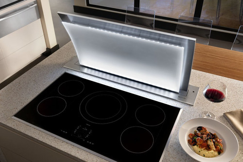New Jenn-Air(R) Ventilation System:  From Bold To Invisible In Seconds.  (PRNewsFoto/Jenn-Air)