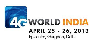 4G WORLD INDIA LOGO (PRNewsFoto/UBM India Pvt Ltd)