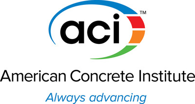 New American Concrete Institute logo.  (PRNewsFoto/American Concrete Institute)