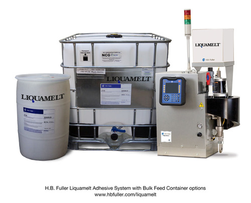 H.B. Fuller Announces Bulk Feed Capability and System Network Option for the Liquamelt® Adhesive