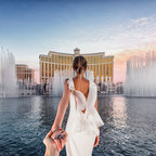 #FollowMeTo Las Vegas, Natalia Osmann in Bochic jewelry photographed by Murad Osmann