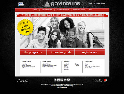 Avue's GovInterns.com Connects College Students, Graduates with Federal Internships, Fast and Easy
