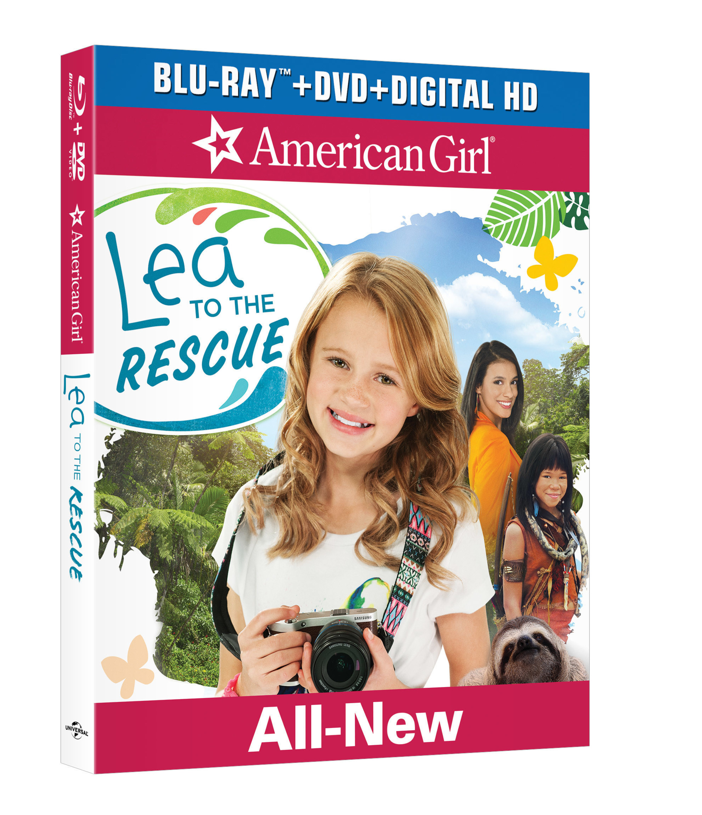 """From Universal Pictures Home Entertainment: American Girl: Lea to the Rescue"""