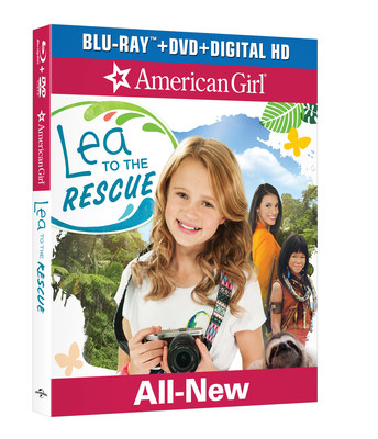 """""""From Universal Pictures Home Entertainment: American Girl: Lea to the Rescue"""""""