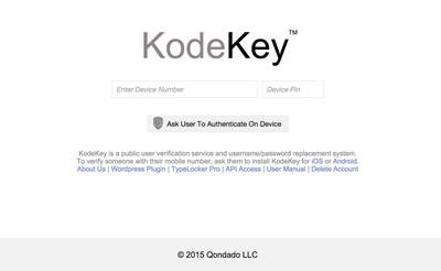 KodeKey IdP