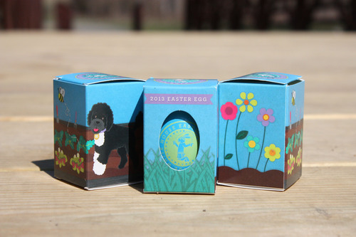 White House Easter Eggs Demonstrate Responsible Forestry