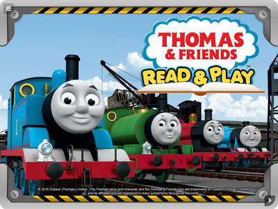 """Thomas & Friends: Read & Play"" offers many educational and entertainment activities for children"