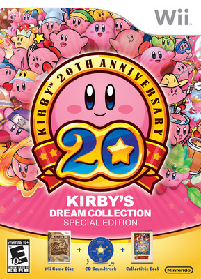 Kirby's Dream Collection Special Edition.  (PRNewsFoto/Nintendo of America)