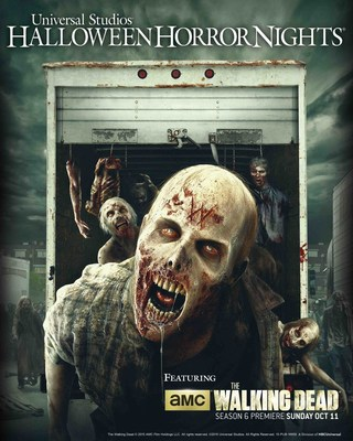 """AMC's """"The Walking Dead"""" Returns to """"Halloween Horror Nights""""at Universal Studios Hollywood and Universal Orlando Resort, Unleashing the Terror of Season 5 Upon the Country's Most Extreme and Highly-Anticipated Halloween Events"""