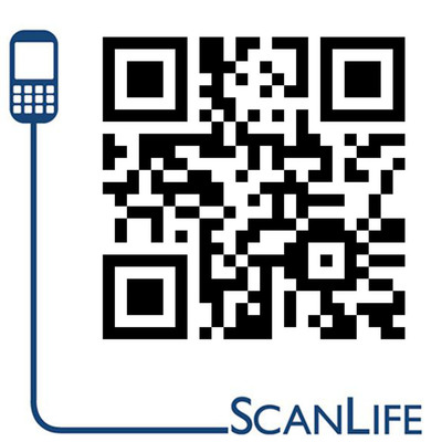 Scan this code to access the release on your mobile device.  (PRNewsFoto/Scanbuy, Inc.)