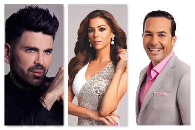 "(Pictured L-R) -- Jomari Goyso, Lourdes Stephen and Carlos Calderon, co-hosts of Univision Network's ""Sal y Pimienta"" (Salt and Pepper), the show that adds salt and pepper to the hottest show business headlines, will host the 2015 NAMIC Annual Awards Breakfast. Presented by the National Association for Multi-ethnicity in Communications (NAMIC), the event is scheduled for Thursday, May 7, 2015, from 8:00 a.m. to 9:30 a.m. CDT at McCormick Place Convention Center in Chicago, Illinois as part of INTX: The Internet & Television Expo."