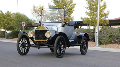 1915 Ford Model T (Lot S221) Photo Courtesy of Mecum Auctions