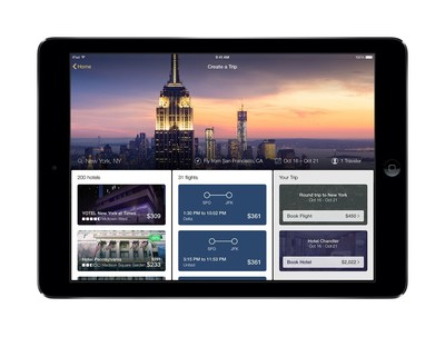 New Expedia Tablet App Introduces Industry-First Combined Hotel and Flight Search (PRNewsFoto/Expedia.com)