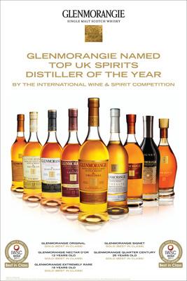 Glenmorangie Named Top UK Spirits Distiller of the Year