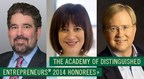 Babson College inducts Alan Trefler, Diane Hessan, and Graham Weston into the Academy of Distinguished Entrepreneurs at Babson College.