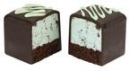 Baskin-Robbins Chocolate Mint Cake Bite.  (PRNewsFoto/Baskin-Robbins)