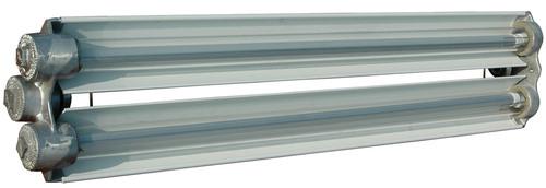 The Larson Electronics EPL-48-2L-LED-G2 Explosion Proof LED Light Fixture is U.S./Canada U.L. approved Class I ...