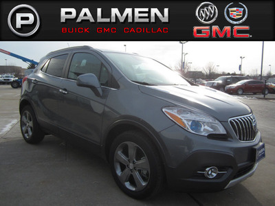 The 2013 Buick Encore is ready to roll off the lot at Palmen Buick GMC Cadillac.  (PRNewsFoto/Palmen Buick GMC Cadillac)