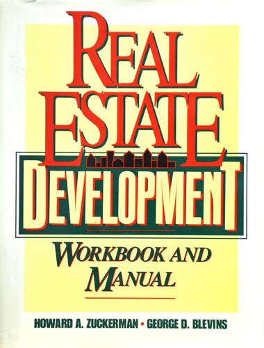 Real Estate Development Workbook and Manual book cover.  (PRNewsFoto/The Institute of Real Estate Development & Investment)