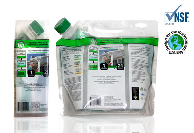 Green Earth Technologies' G-Clean(TM) Super Concentrated Products Now Certified by The Home Depot(R) Eco Options(TM) Program.  (PRNewsFoto/Green Earth Technologies, Inc.)
