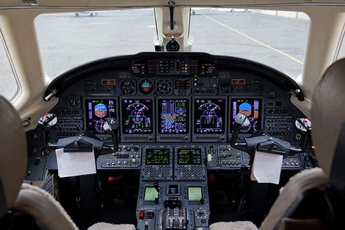 Inside the XOJET Citation X.  (PRNewsFoto/XOJET)