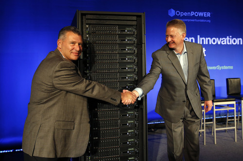 IBM revealed its POWER8 Systems today, the first servers exploiting for OpenPOWER technology. (PRNewsFoto/IBM)