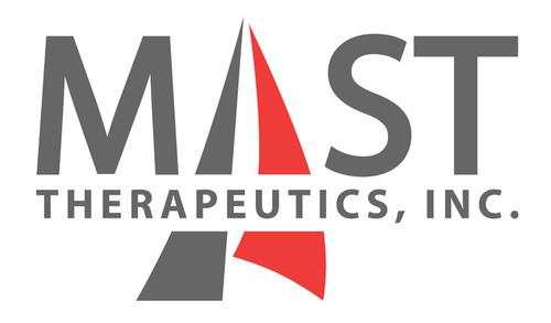 Mast Therapeutics, Inc. logo. (PRNewsFoto/Mast Therapeutics, Inc.) (PRNewsFoto/)