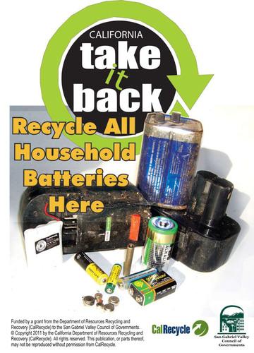 Pilot Program Will Make Recycling Household Batteries Easier