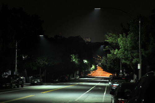 Philips Lighting New LED Solution on Centre Street in West Roxbury.  (PRNewsFoto/Royal Philips Electronics, John Mottern)