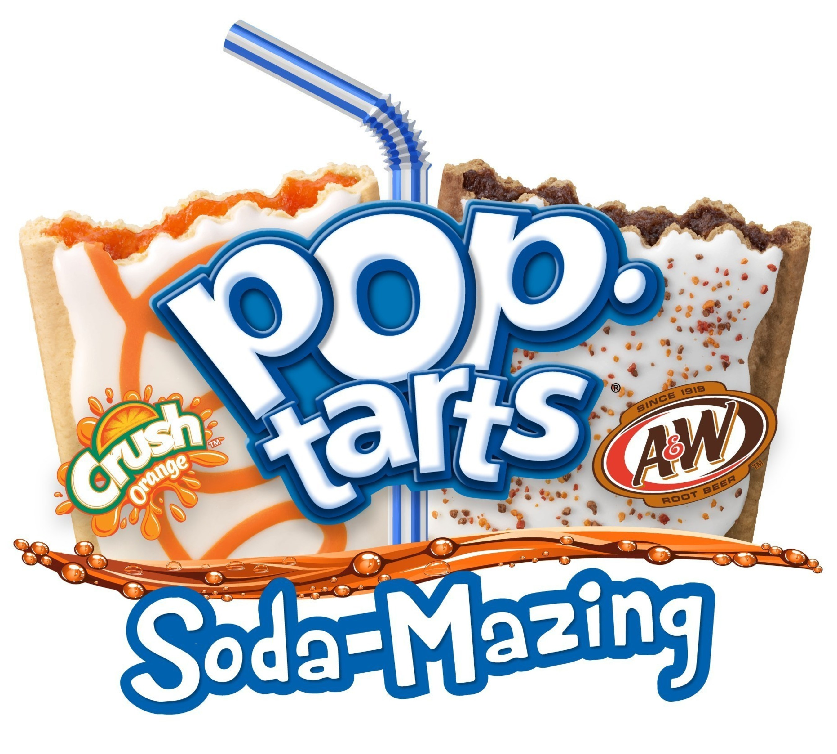 New Pop-Tarts® Mashed Up With Crazy Good™ Soda Pop Flavors