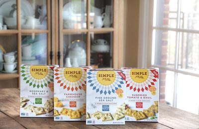 Simple Mills Launches Gluten-Free Almond Flour Cracker Line