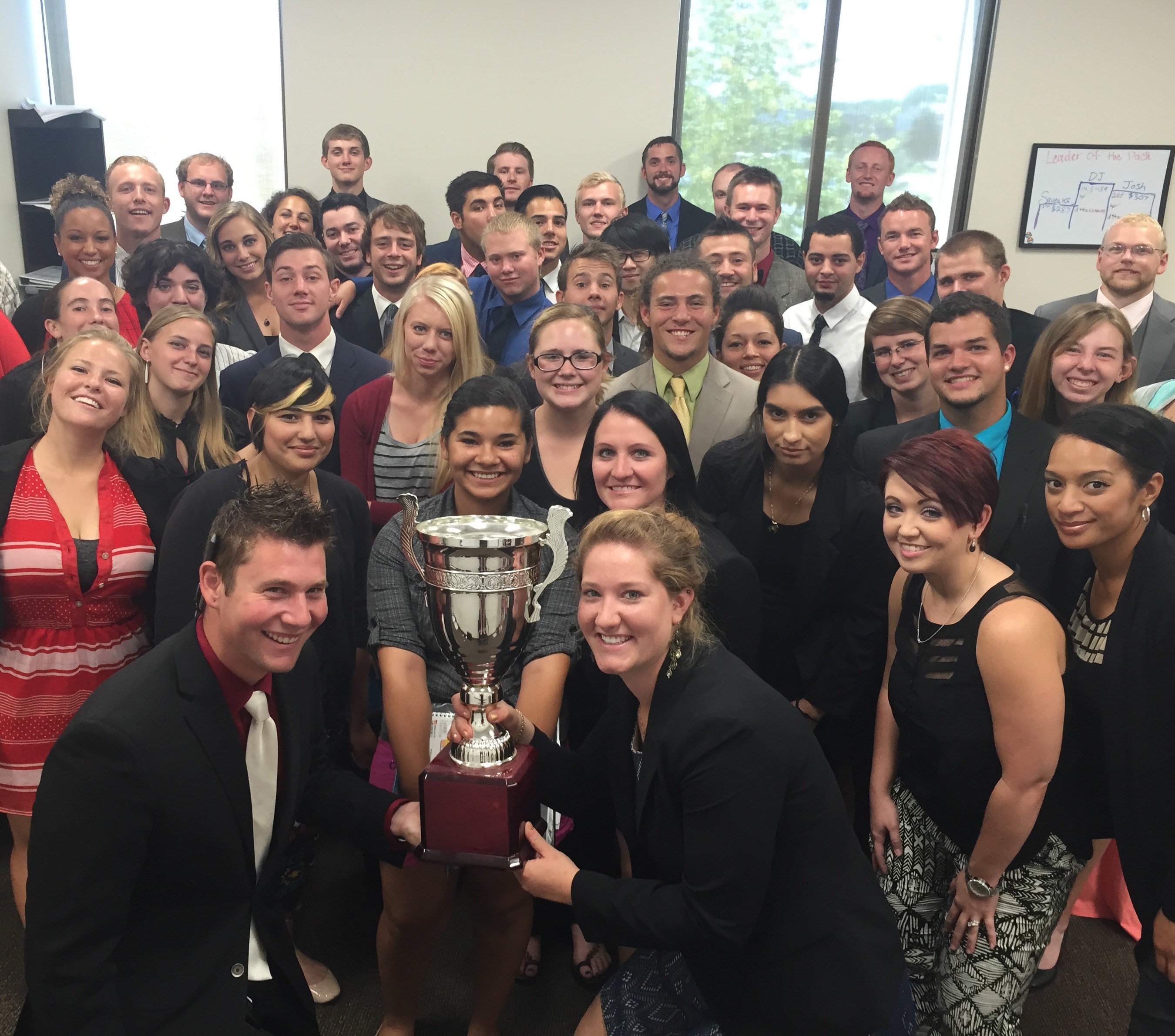 Northwestern Marketing Concepts Awarded Prestigious Sales Trophy
