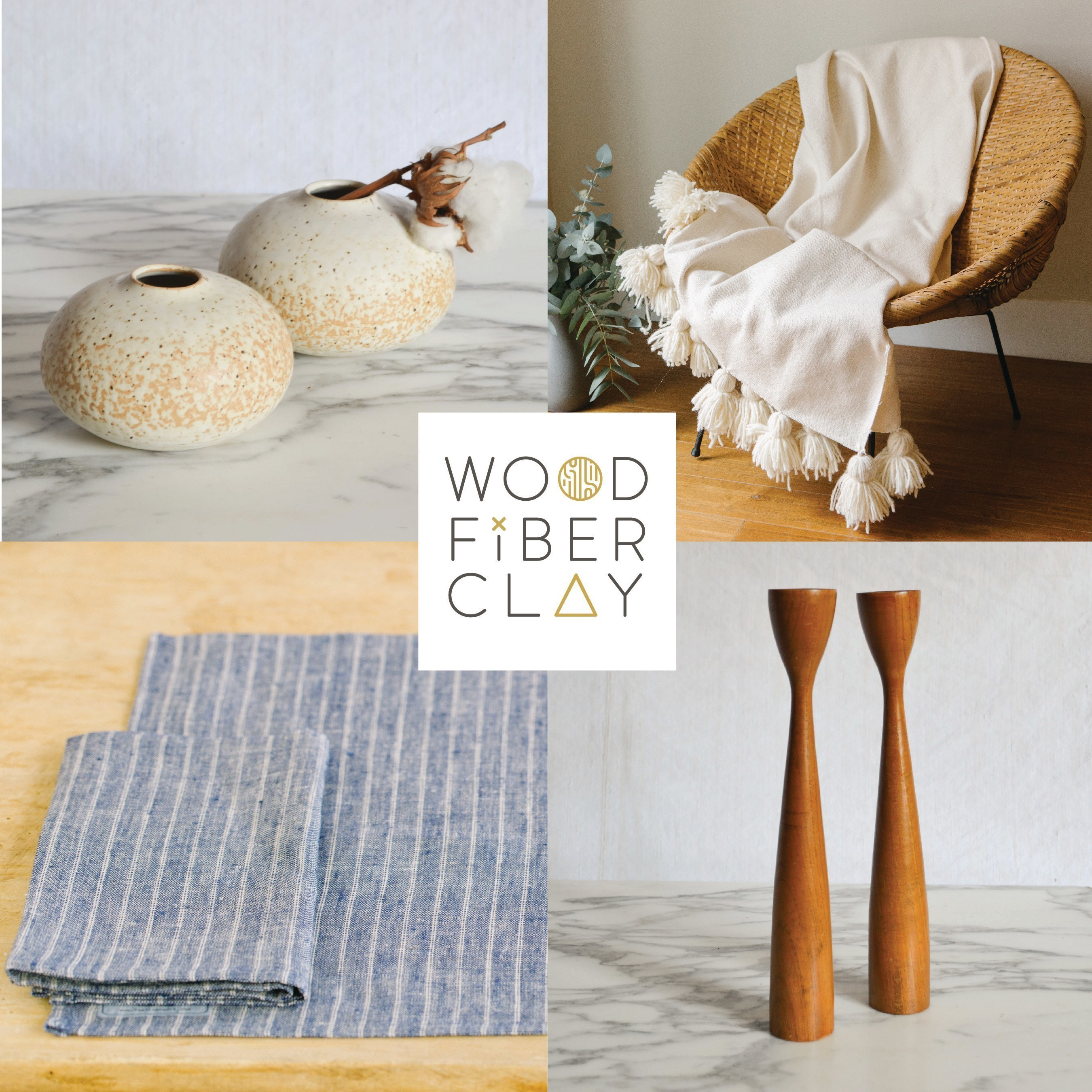 Wood Fiber Clay Launches New Online Homewares Store