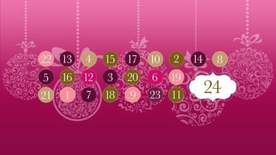 The season's most insightful Advent Calendar by startup lifestyle media Hybe (PRNewsFoto/Hybe) (PRNewsFoto/Hybe)