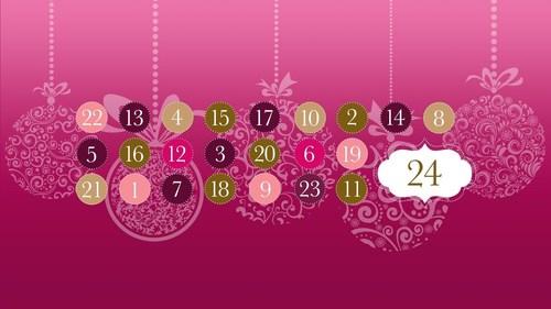 The season's most insightful Advent Calendar by startup lifestyle media Hybe (PRNewsFoto/Hybe)