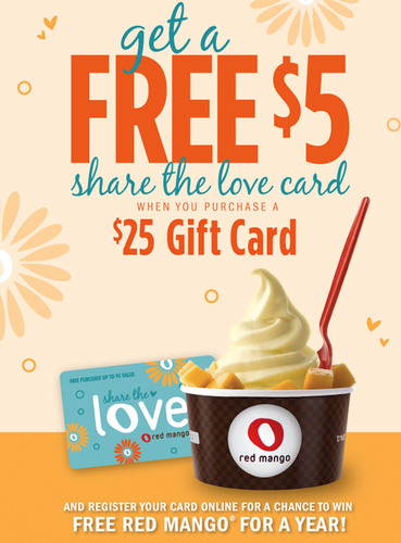 Share the love at Red Mango.  (PRNewsFoto/Red Mango)