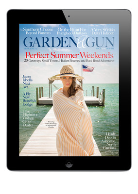 Garden & Gun now brings the best of Southern culture to your iPad. With its lively mix of sporting life, food, music, style and travel coverage, and sharp writing, stunning photography, and crisp design, the new digital edition enables you to read, watch, listen to, and experience the South's finest anywhere at any time. You can also catch up on back issues, which are now available on the iPad. http://bit.ly/11EBDMG.  (PRNewsFoto/Garden & Gun)