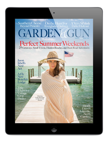 Garden & Gun now brings the best of Southern culture to your iPad. With its lively mix of sporting life, food, ...