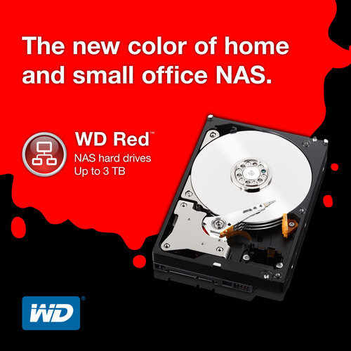 WD(R) Designs First Hard Drives For SOHO NAS Systems.  (PRNewsFoto/Western Digital Technologies)