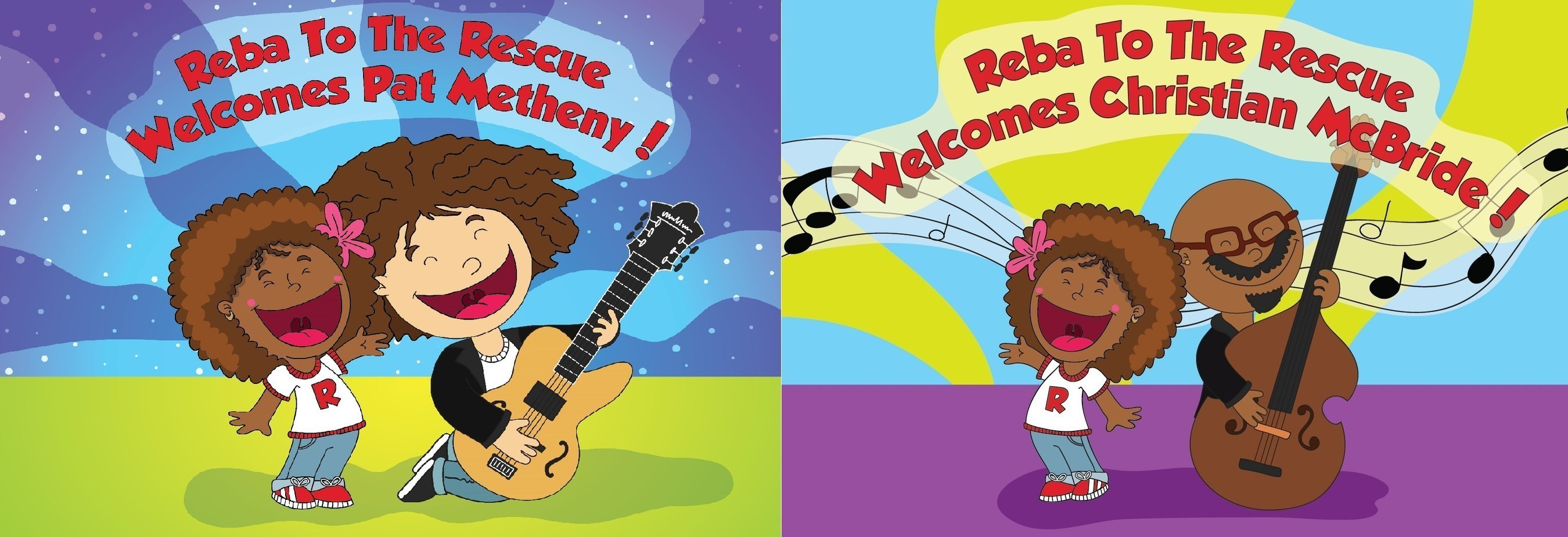 Pat Metheny and Christian McBride Join the Educational Venture 'Reba To The Rescue''