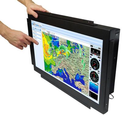 Small PC Marine LCD Display.(PRNewsFoto/Small PC)