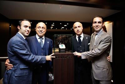 From left to right: Manuel, Moris, Giacomo & Marco Hadjibay