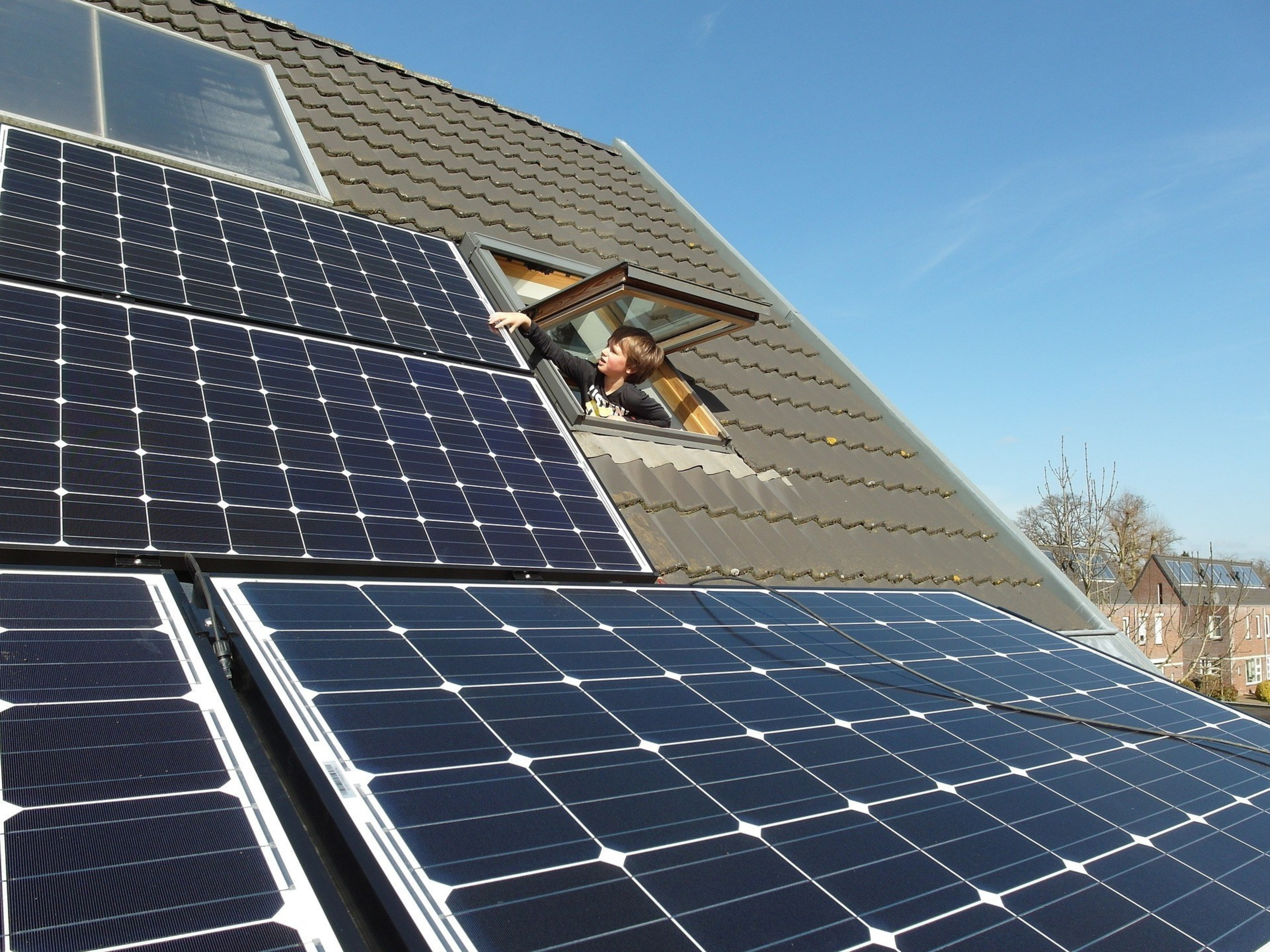 A new report by AEE Institute shows that renewable resources, like this residential solar energy system, and energy efficiency are a cost-effective solution as states prepare to implement EPA's Clean Power Plan.