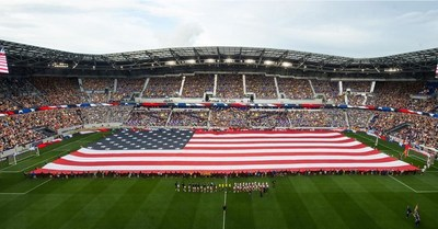 Bayer and New York Red Bulls Honor Heroes during 9/11 Match