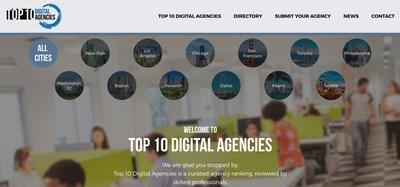 www.Top10DigitalAgencies.com - Main Page