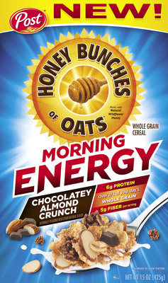 Try new Honey Bunches of Oats Morning Energy cereal today