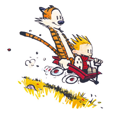 Calvin and Hobbes available in e-books November 12, 2013 (c) 2013 Bill Watterson.  (PRNewsFoto/Andrews McMeel Publishing)