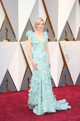 Cate Blanchett on the red carpet at the 88th Academy Awards